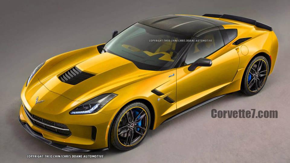 ZR1 Corvette Stingray C7 Imagined