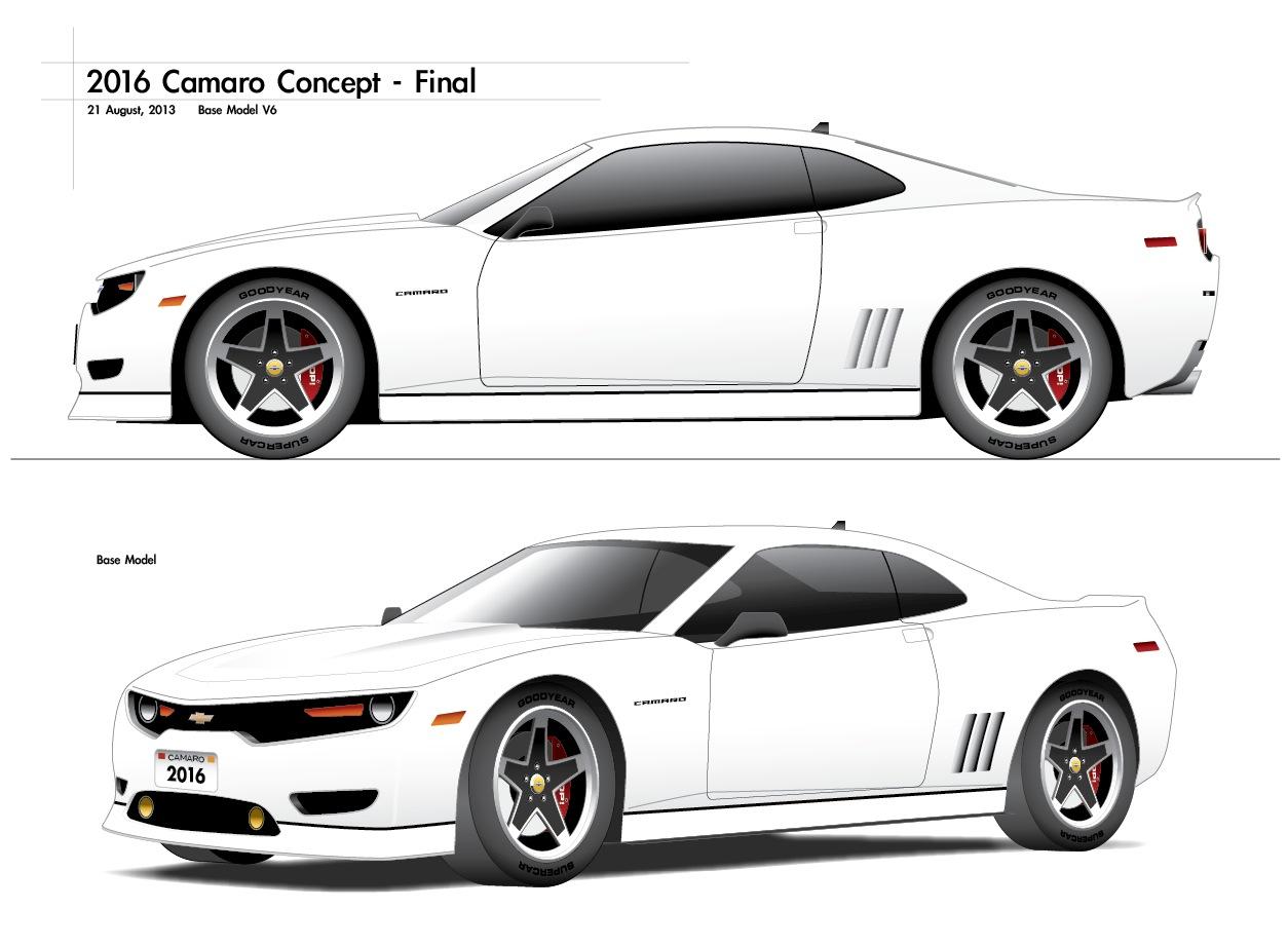 Camaro 2016 chevy camaro concept : My Design Idea for the 2016 Camaro - Page 23 - CAMARO6
