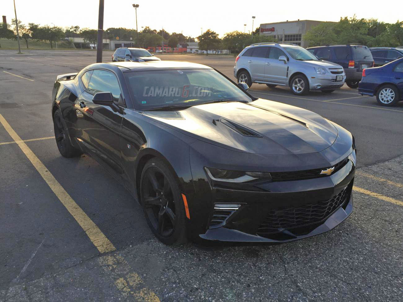 ran into black 2016 camaro ss in pontiac camaro6. Black Bedroom Furniture Sets. Home Design Ideas