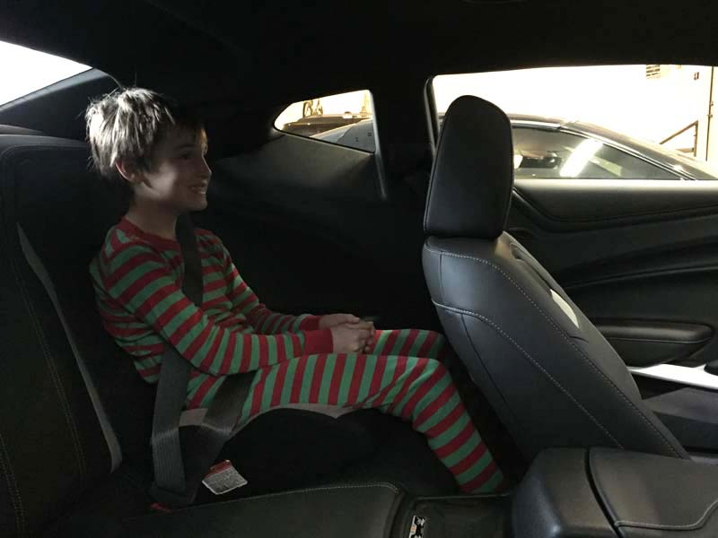 Back Seat and Trunk concerns put to rest - CAMARO6