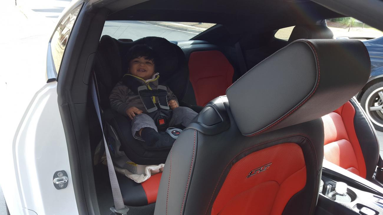 Car Seat Fits With Room To Spare