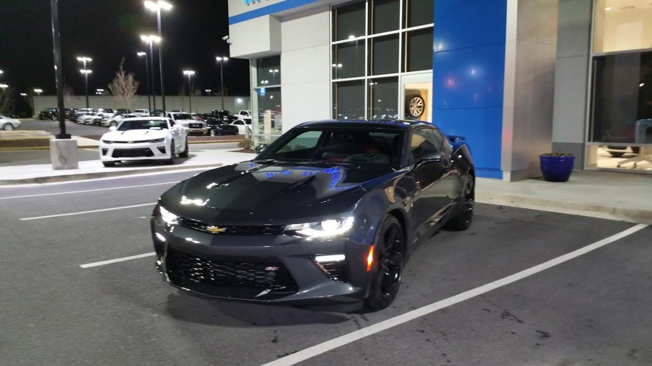 I Chose Nightfall Gray Metallic Camaro6