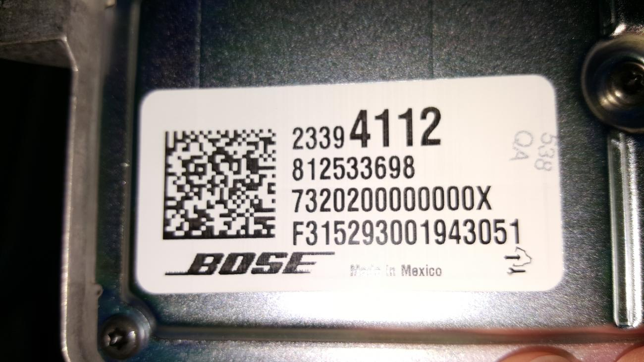Bose Wiring Diagram Camaro6 Gm Amp Attached Images