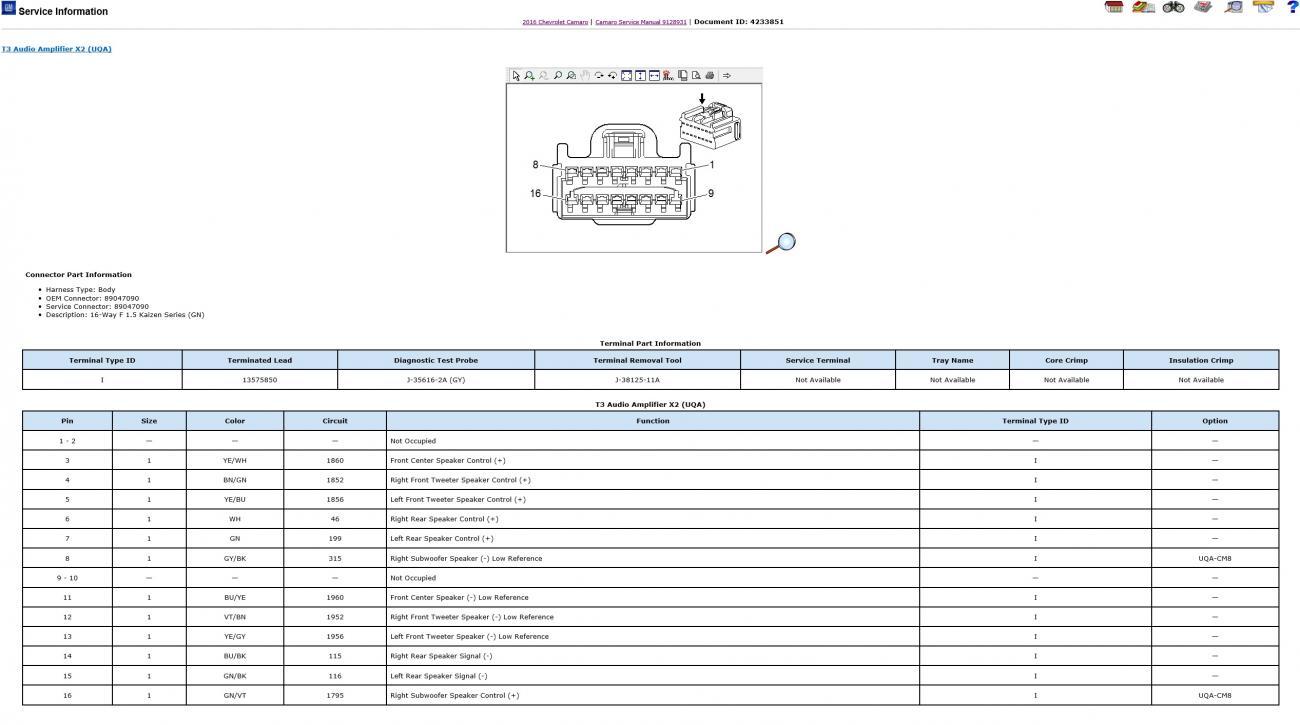 bose wiring diagram - page 2 - camaro6 camaro bose wiring diagram