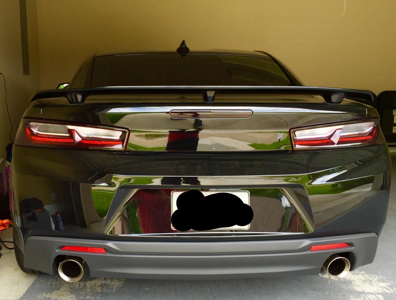 Verdict On Chevy Emblem Removal Camaro6
