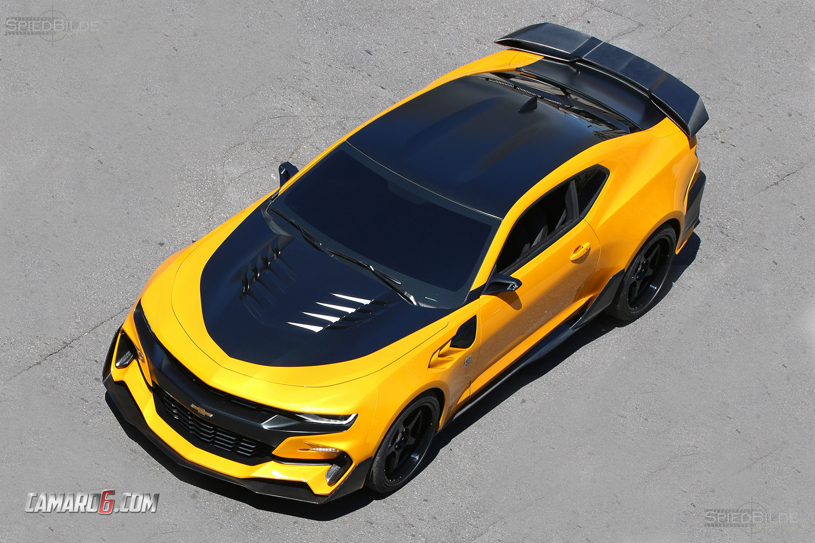 first full look at new bumblebee camaro for transformers 5. Cars Review. Best American Auto & Cars Review