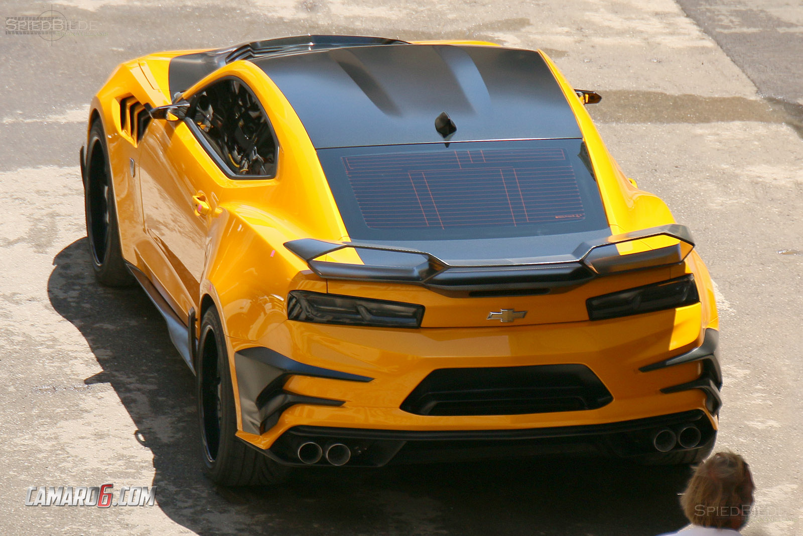 First Full Look At New Bumblebee Camaro For Transformers 5 Camaro6
