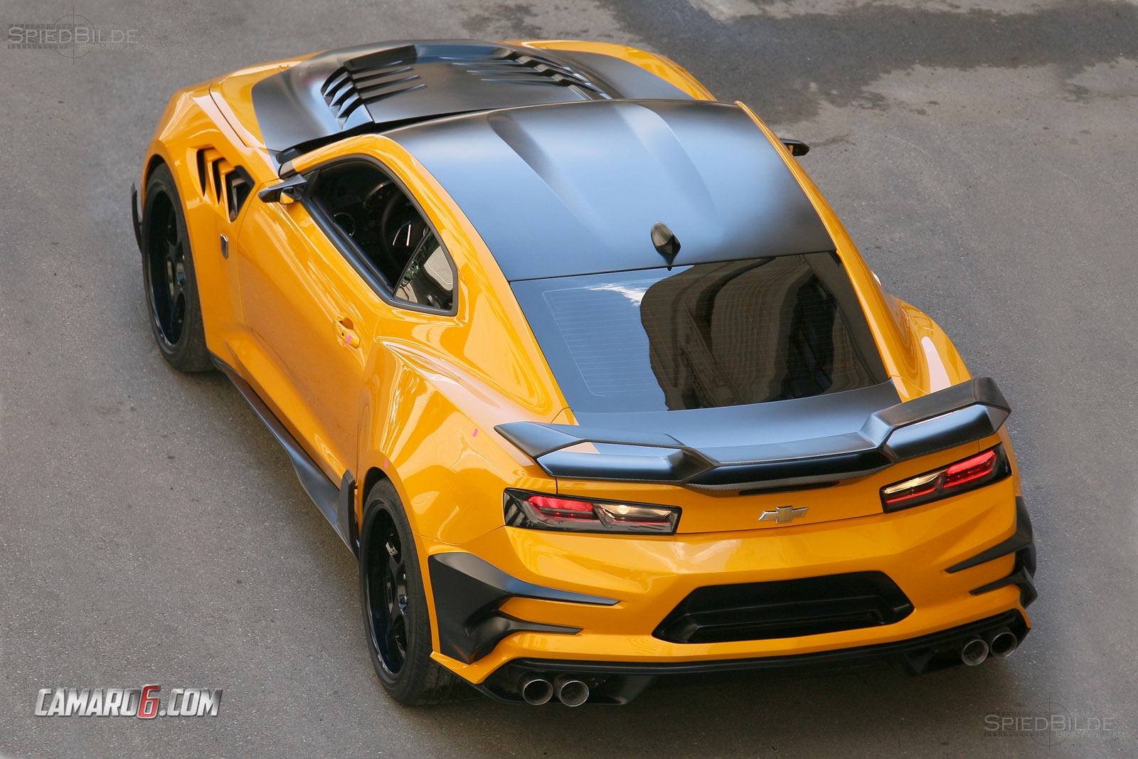 first full look at new bumblebee camaro for transformers 5 camaro6. Black Bedroom Furniture Sets. Home Design Ideas