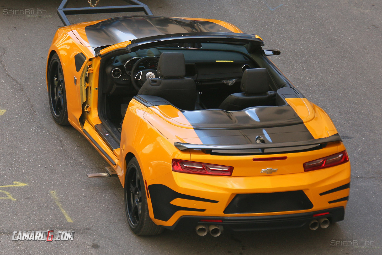 First Full Look At New Bumblebee Camaro For Transformers 5