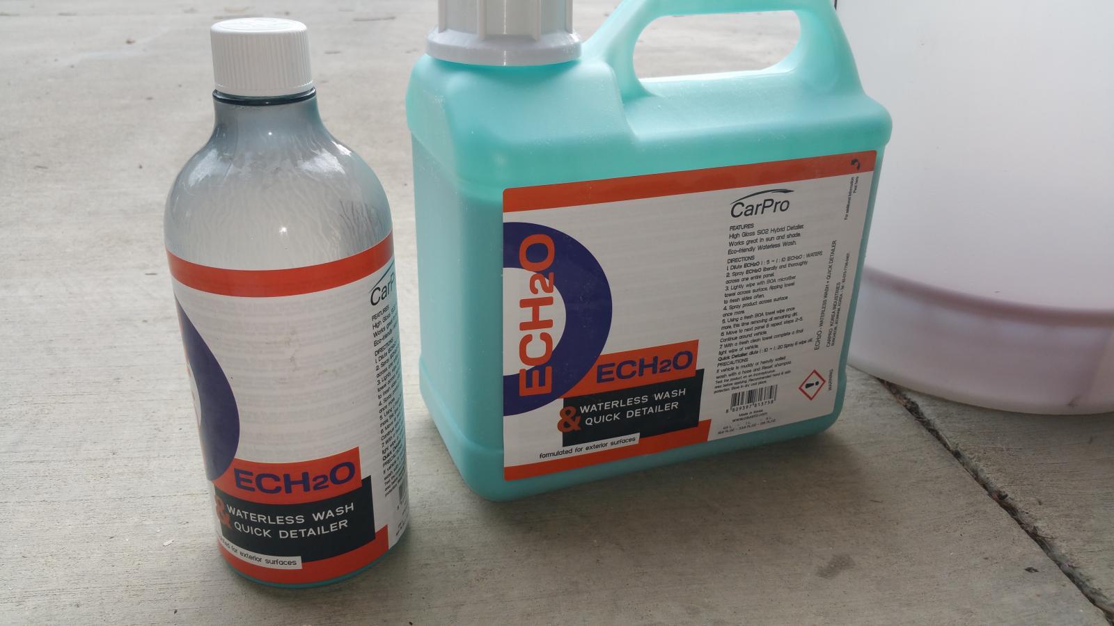 Car Pro Ech2o Rinseless Wash Camaro6
