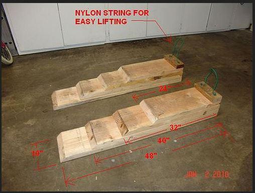 Building The Wooden Ramps Camaro6