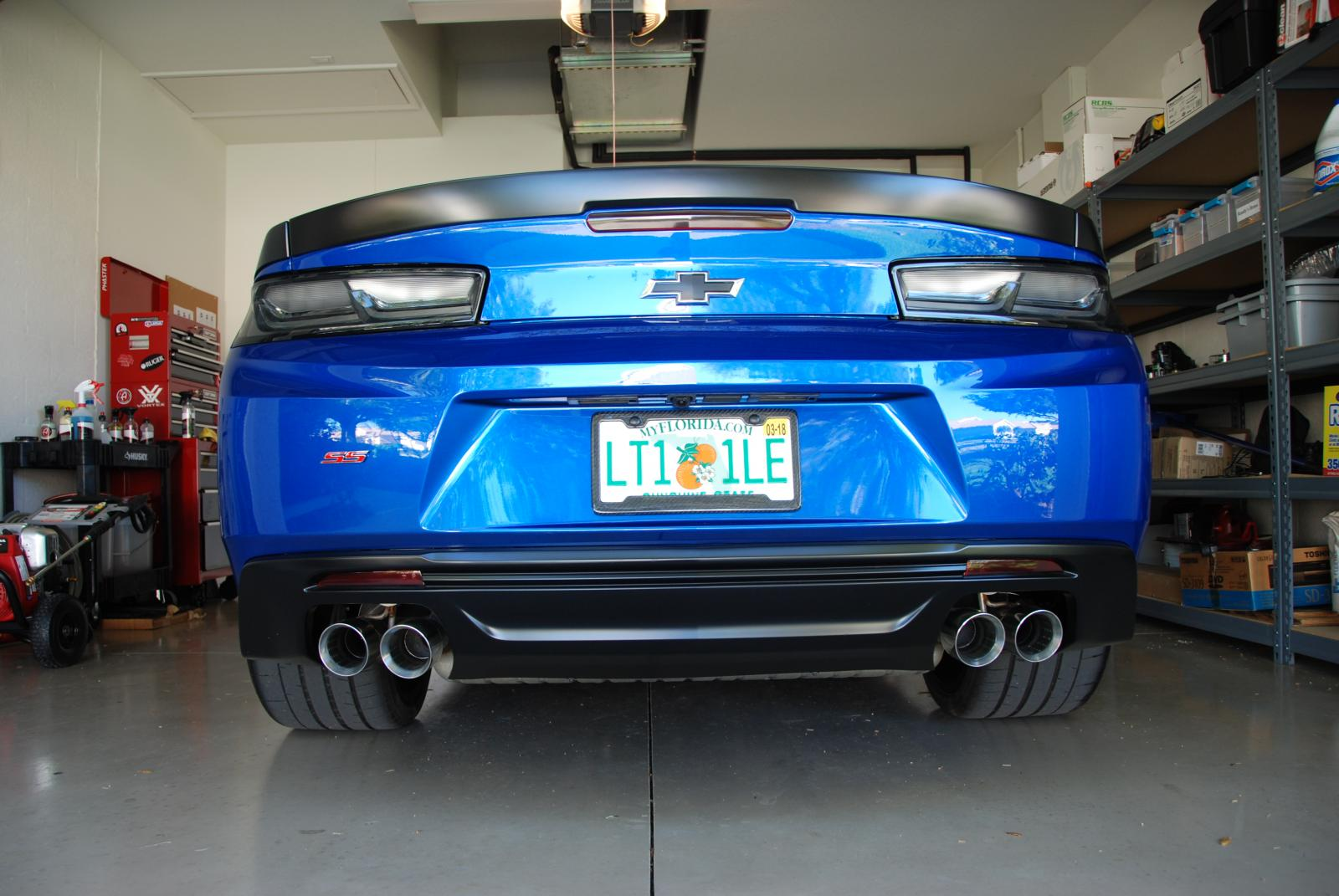 Personalized Plates For 1le Camaro6