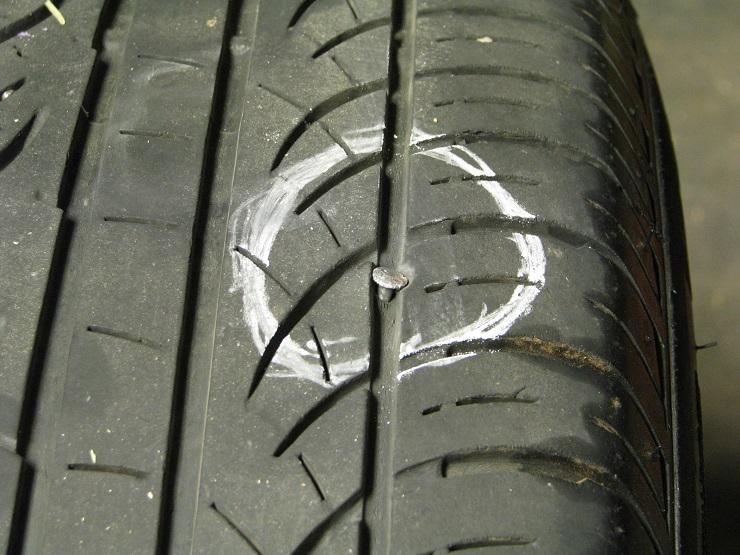 Nail In Tire Repair >> Tire Repair Camaro6