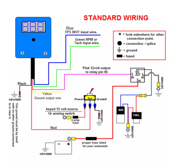Enchanting Nitrous Relay Wiring Diagram Contemporary - Best Image ...