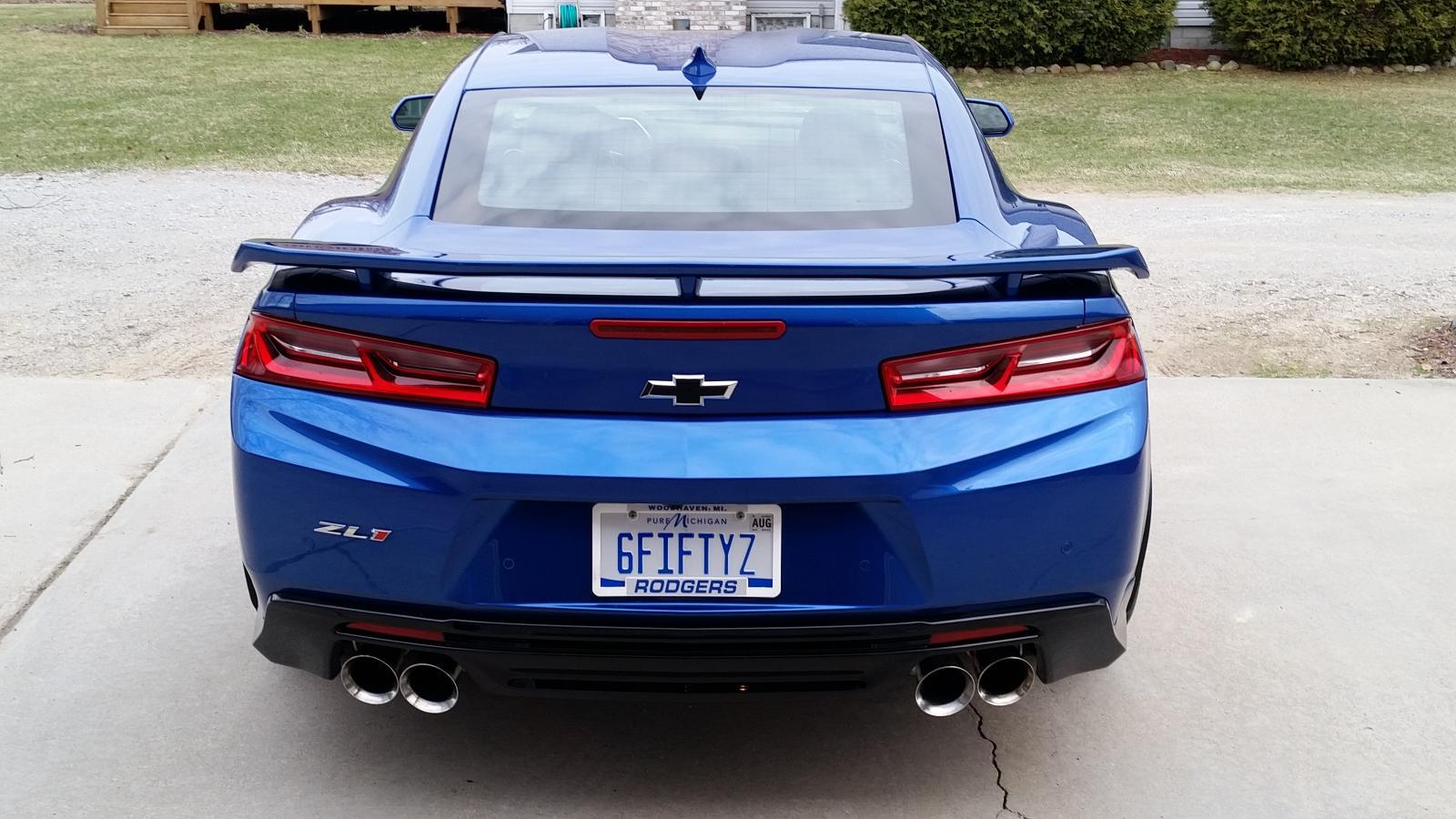 Zl1 Zl1 1le Personalized License Plates Camaro6