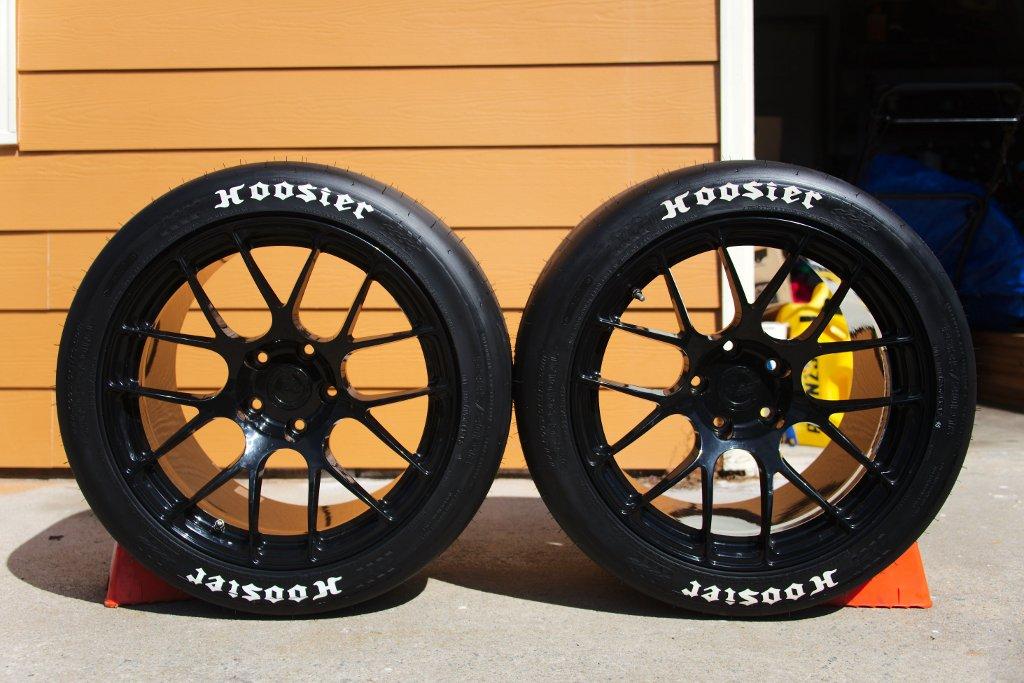 "Dynamic Large Dragster Slicks Tires /& 5 Spoke Mag Wheels 1 5//16/"" T X 1//2/"" W  NOS"