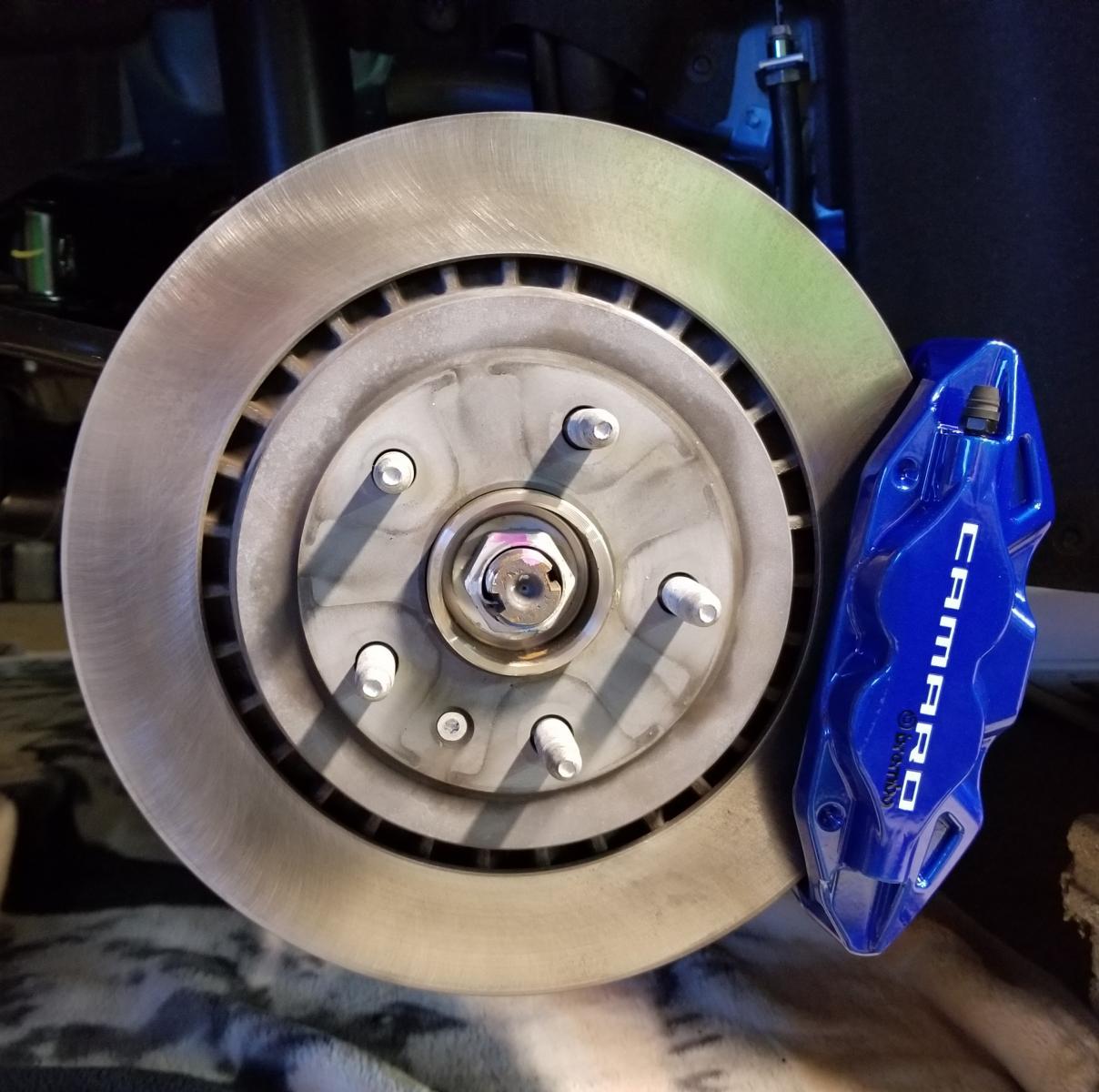 Bleeding Brembo brakes - CAMARO6