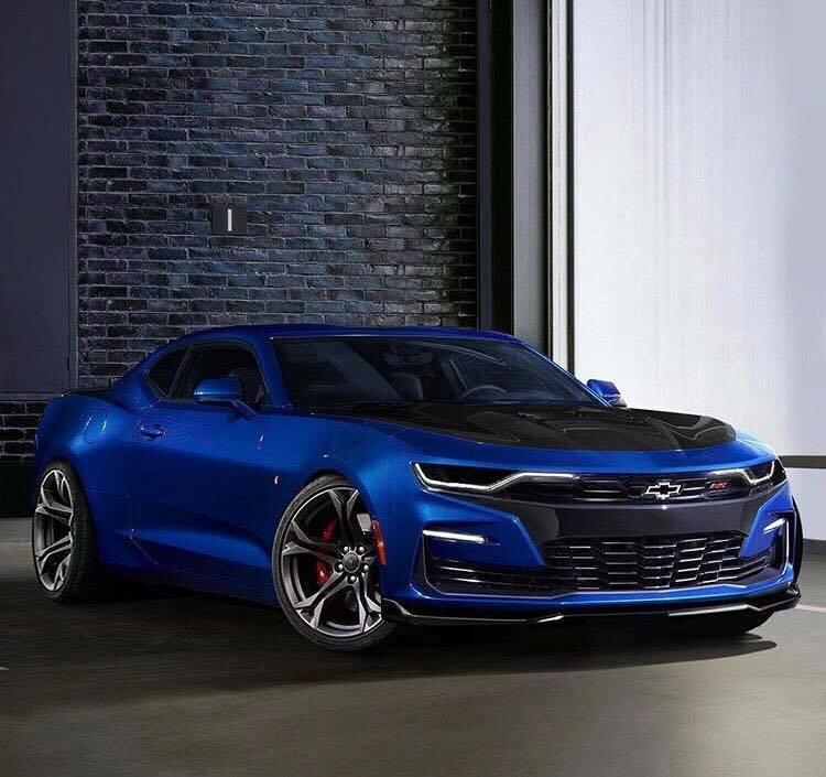 Facelifted 2019 Chevrolet Camaro Lineup