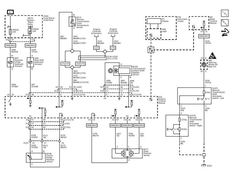 Chevrolet L99 Engine Diagram