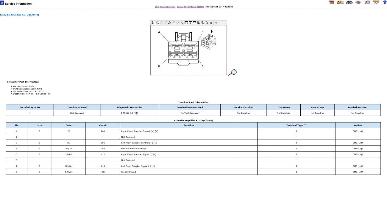 bose wiring diagram camaro6. Black Bedroom Furniture Sets. Home Design Ideas
