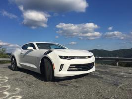 2016 Camaro Rs V6 Custom Leather Interior Flowmaster American Thunder Exhaust X Pipe