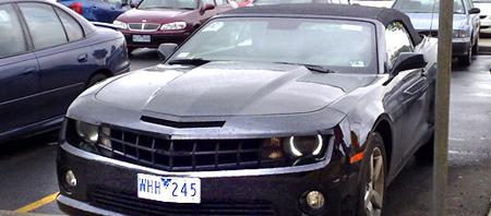 2010 chevy camaro convertible