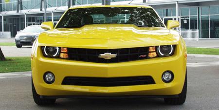 2010 yellow camaro