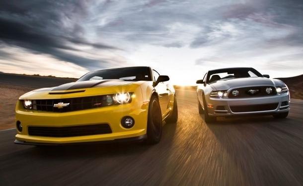 Comparison Chevrolet Camaro Ss 1le Vs Ford Mustang Gt