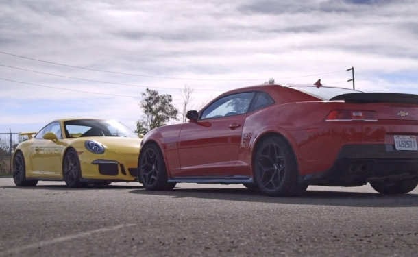Z 28 Vs Gt3 Motor Trend Ignition Head To Head Camaro