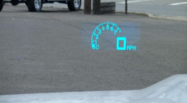 11-13 Camaro Heads Up Display Switch HUD USED