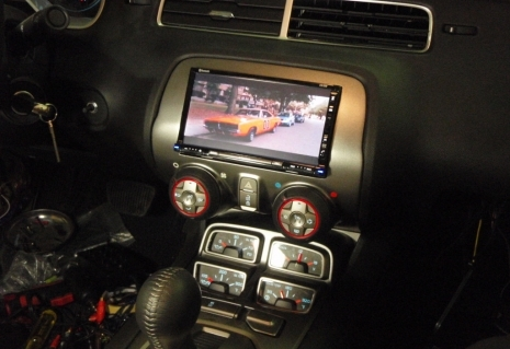 First Double Din Screen Fitted In 2010 Camaro Camaro Zl1