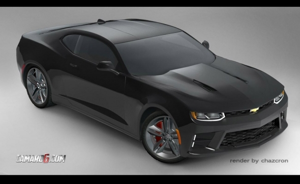 2016 Camaro Previewed In Black Surprise Unveiling From Chevy Coming