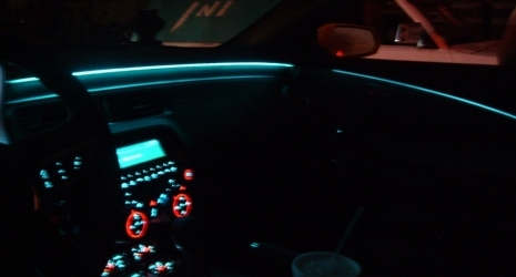 Alternative way to install dashboard ABL (with light strips and without drilling/cutting) & Alternative way to install dashboard ABL (with light strips and ...
