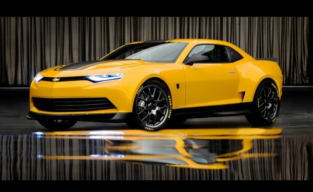First Official Images Of Transformers 4 Concept Camaro Camaro