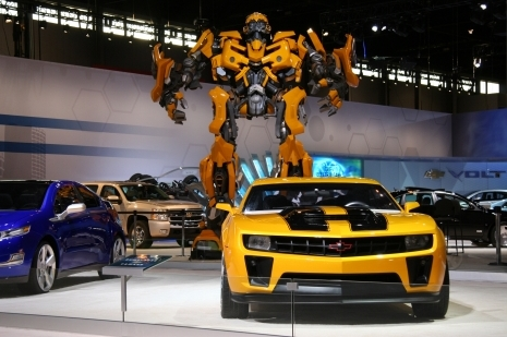 Orange County Auto Show >> Bumblebee Camaro Coming To Anaheim Orange County Auto Show