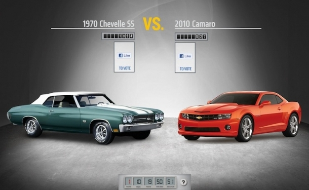 best chevy of all time round 1 1970 chevelle ss vs 2010 camaro