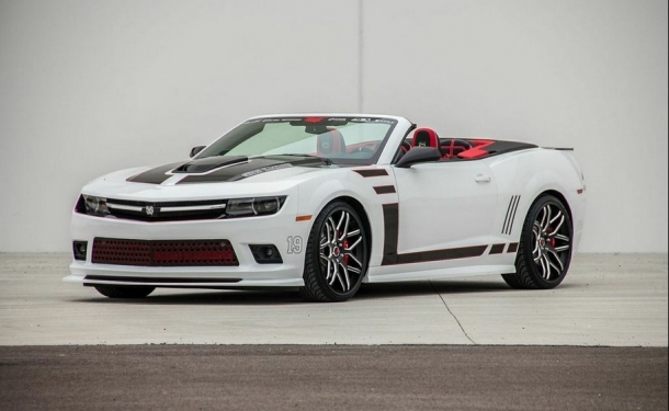 Chicago Blackhawks Themed Camaro Convertible Giveaway | Camaro ZL1 ...