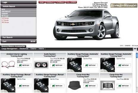 2010 Camaro Accessories Parts Hit The Web Camaro Zl1 Z28 Ss Lt