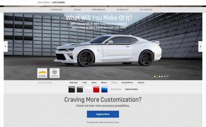 camaro official site