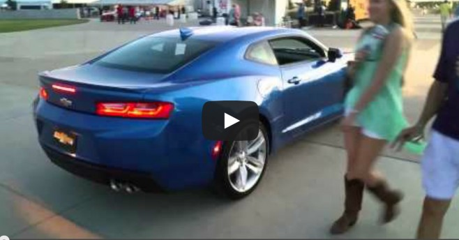 Video 2016 Camaro Rs In Hyper Blue At Cota Lone Star Le