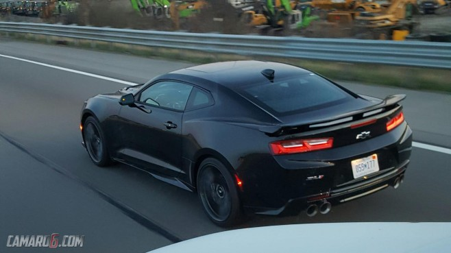 2017 Camaro Zl1 Spotted In Wild