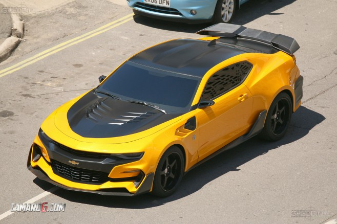 First Full Look At New Blebee Camaro For Transformers 5