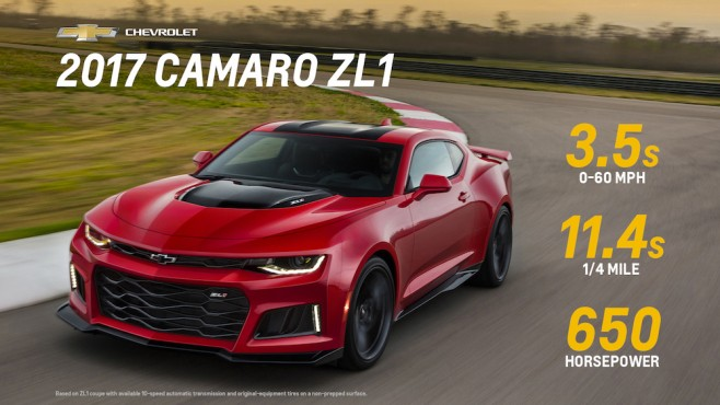 2017 Camaro Zl1 And 1le Pricing And Specs Officially