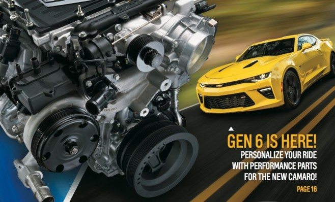 gm performance parts catalog for 6th gen camaro now available 6th gen 2016 camaro forums. Black Bedroom Furniture Sets. Home Design Ideas