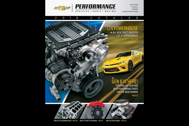 2016 Chevrolet Performance Catalog Offers More