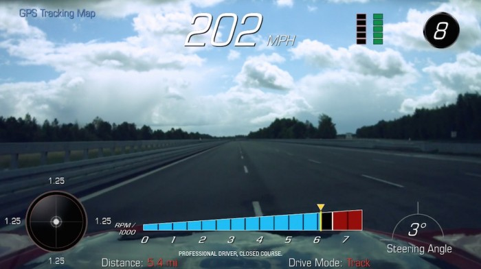 ATP Automotive Testing Papenburg GmbH – 2017 Chevrolet Camaro ZL1 Top Speed Testing Southbound Run